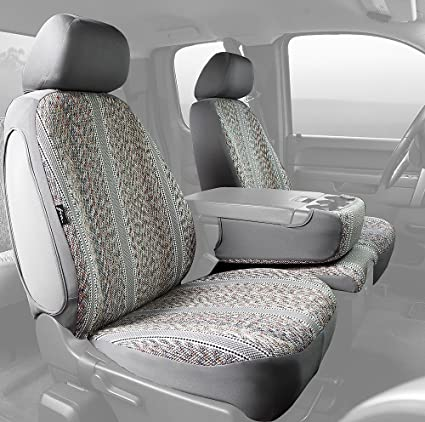 Fia TR47-34 BROWN Custom Fit Front Seat Cover Bucket Seats Brown Saddle Blanket,