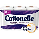 Cottonelle Ultra ComfortCare Big Roll Toilet Paper, Bath Tissue, 12 Count by Cottonelle