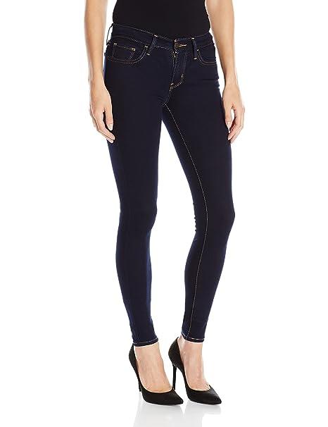 Levis 710 Super Skinny Jean - Pantalones Vaqueros para Mujer