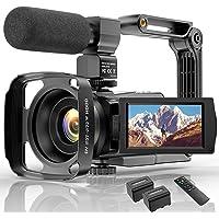 4K Video Camera HD Digital Camcorders Video Camera for YouTube Vlogging Camera, 48MP 16X Digital Zoom IR Night Vision…
