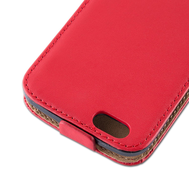 Cadorabo - Funda Flip Style para Apple iPhone 6 Plus / 6S Plus de Cuero Sintético Liso: Amazon.es: Electrónica