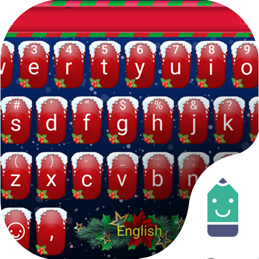 Merry Christmas Theme&Emoji Keyboard (Emoji Merry Christmas)