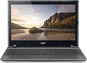 Acer C710-2833 11.6-Inch Chromebook - Iron Gray (16GB SSD) (Renewed)