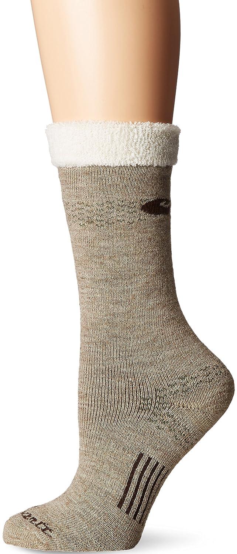 07e456e30e Carhartt Women's Snow Flake Sherpa Cuff Graduated Compression Boot Sock