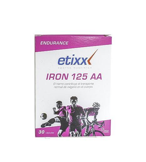 Etixx Iron 125 AA - 30 Cápsulas: Amazon.es: Salud y cuidado ...