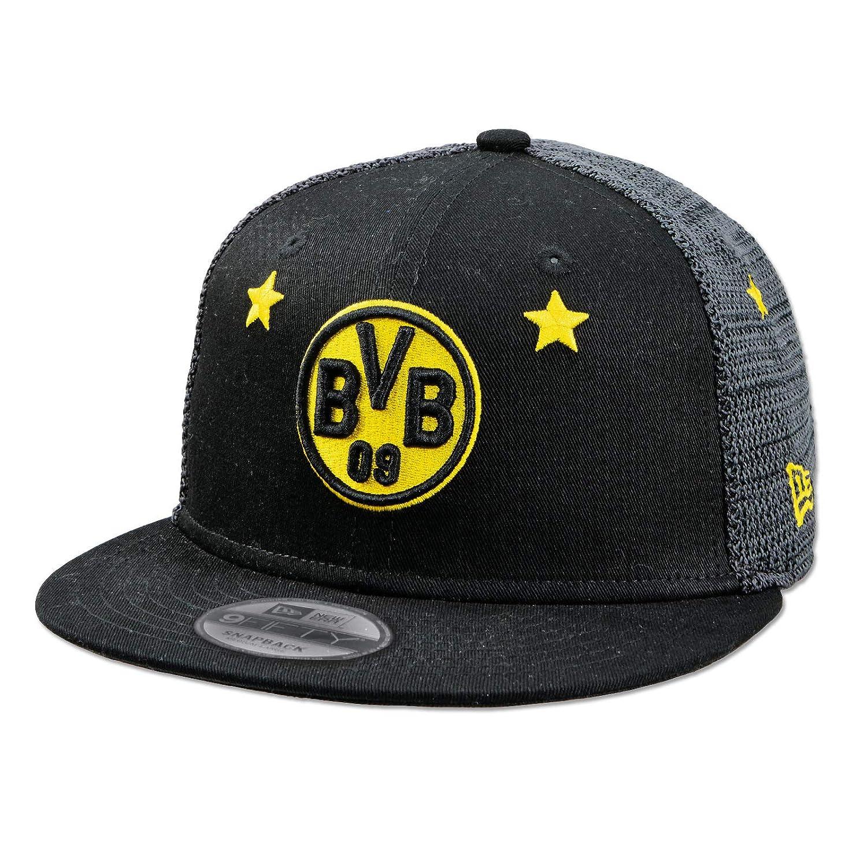 "S//M M//L BVB NEW ERA Cap Kappe 9FIFTY /""Sterne/"" Borussia Dortmund Gr"
