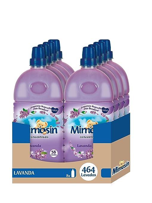 Mimosín Lavanda Suavizante Concentrado para 58 lavados - 8 Suavizantes