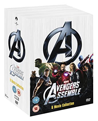 marvel film box set