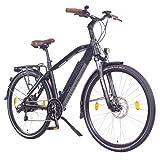 NCM Venice 48V 28 Zoll Urban E-Bike 250W Das-Kit Heckmotor 13Ah 624Wh Li-Ion Zellen Akku schwarz