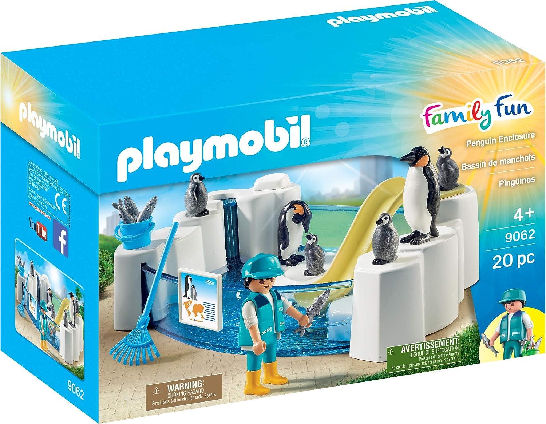 PLAYMOBIL- Pingüinos, única (9062)