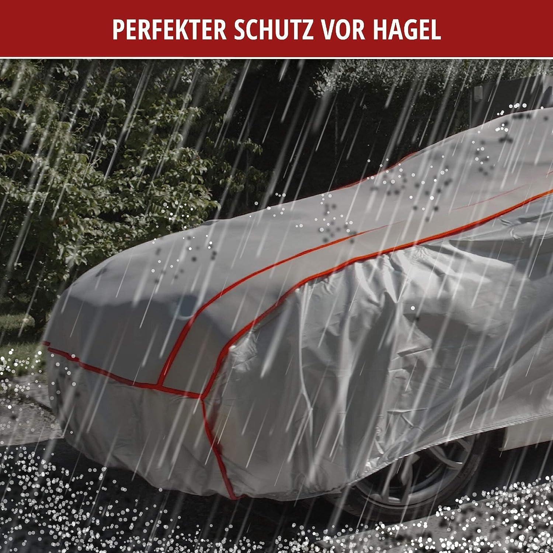 Walser Auto Hagelschutzplane Perma Protect Pkw Wasserdichte Atmungsaktive Hagelschutzgarage Für Optimalen Hagelschutz Größe M 30974 Auto