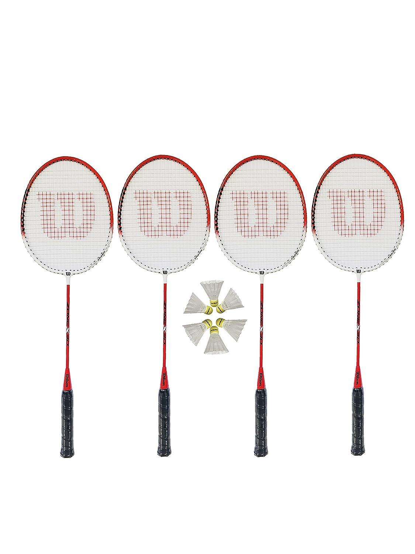 4 x Wilson Hyper Zone Badminton Rackets