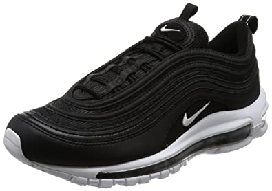 new style 1affb 1b164 Nike Air Max 97, Chaussures de Running Homme, Multicolore (Black White 001