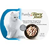Purina Fancy Feast Purely Natural Entrees in a Delicate Broth Adult Wet Cat Food - (10) 2 oz. Trays