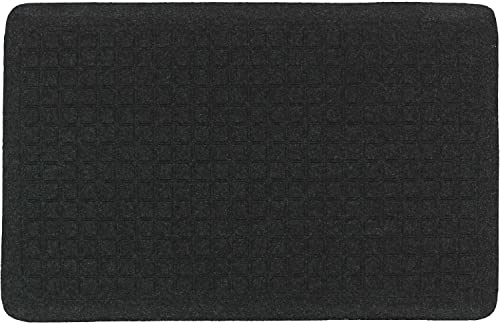 The Andersen Company Get Fit Stand Up Anti-Fatigue Mat, Coal Black, 22 x 32 x 5 8