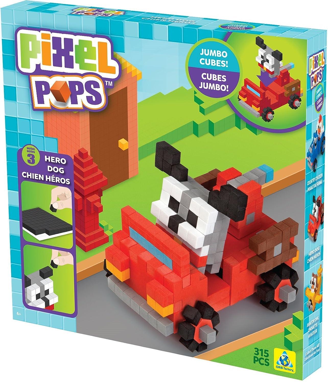 Pixel Pops Hero Dog 315 PCS Orb Factory ORB73824