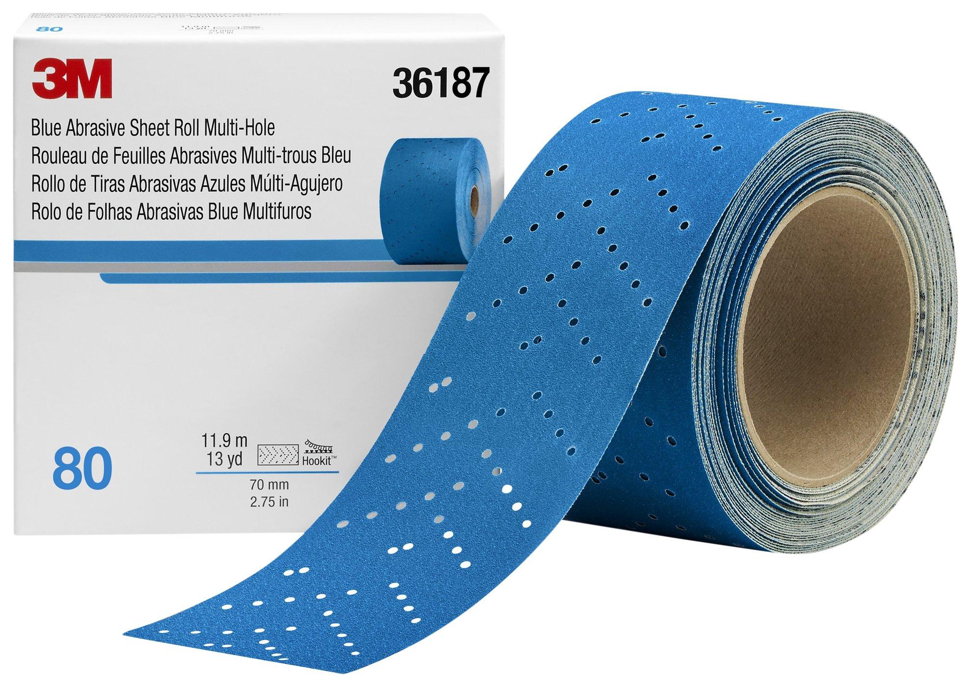Hookit 36187 Blue Abrasive Sheet Roll
