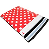 "[ 100 - 10"" X 13"" ] PackItChic - Minnie Red Polka Dot Pattern Custom Poly Mailer Envelope Shipping Bags, Tear Proof & Self Seal Adhesive (Other Designs Available)"