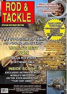 Fishing Son Birthday Card Magazine Spoof 8x55 Mix Match