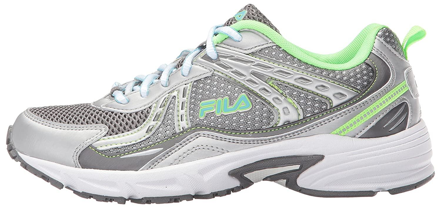 Fila Validation Women's Running Shoes B019Z2BBKG Gecko/bluefish 9 B(M) US|Dark Silver/green Gecko/bluefish B019Z2BBKG 2091d5