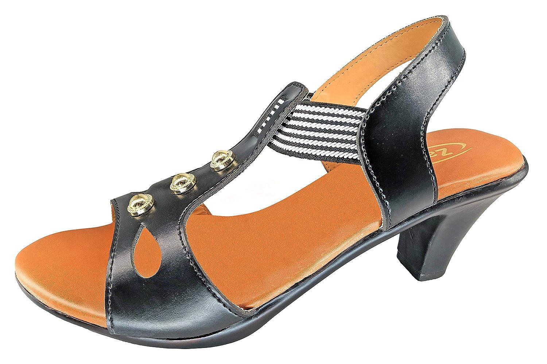 Buy ZaHu Medium Heels Sandals for Women