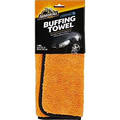 Armor All Microfiber Car Buffing Towels, Cleaner for Cars & Truck & Motorcycle, Supersoft, 17623: Automotive
