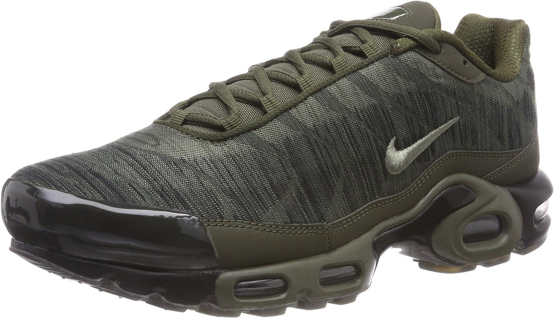 Nike Air Max Plus Jcrd Zapatillas de Gimnasia Hombre, Verde (Cargo Khaki/Dk Stucco/Black/Lt 300), 40 EU (6 UK)