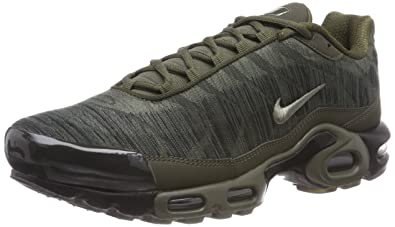 new concept 0a56b e58c1 Nike Air Max Plus Jacquard Cargo Khaki 845006 300 Men s Running Shoes ...