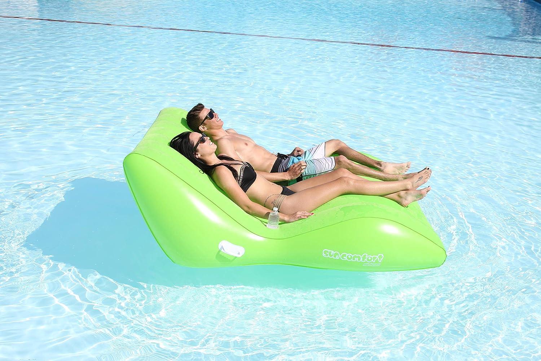 AIRHEAD Sun Comfort Cool Suede Zero Gravity Lounge