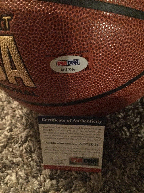 4e64d4e1f21 Balls Dwayne Wade Autographed Signed Basketball Miami Heat COA Memorabilia  PSA DNA Auto Mvp Flash Champion Hof