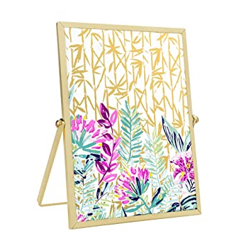 Amazon.com: Lilly Pulitzer Gold Easel Picture Frame (Slathouse)