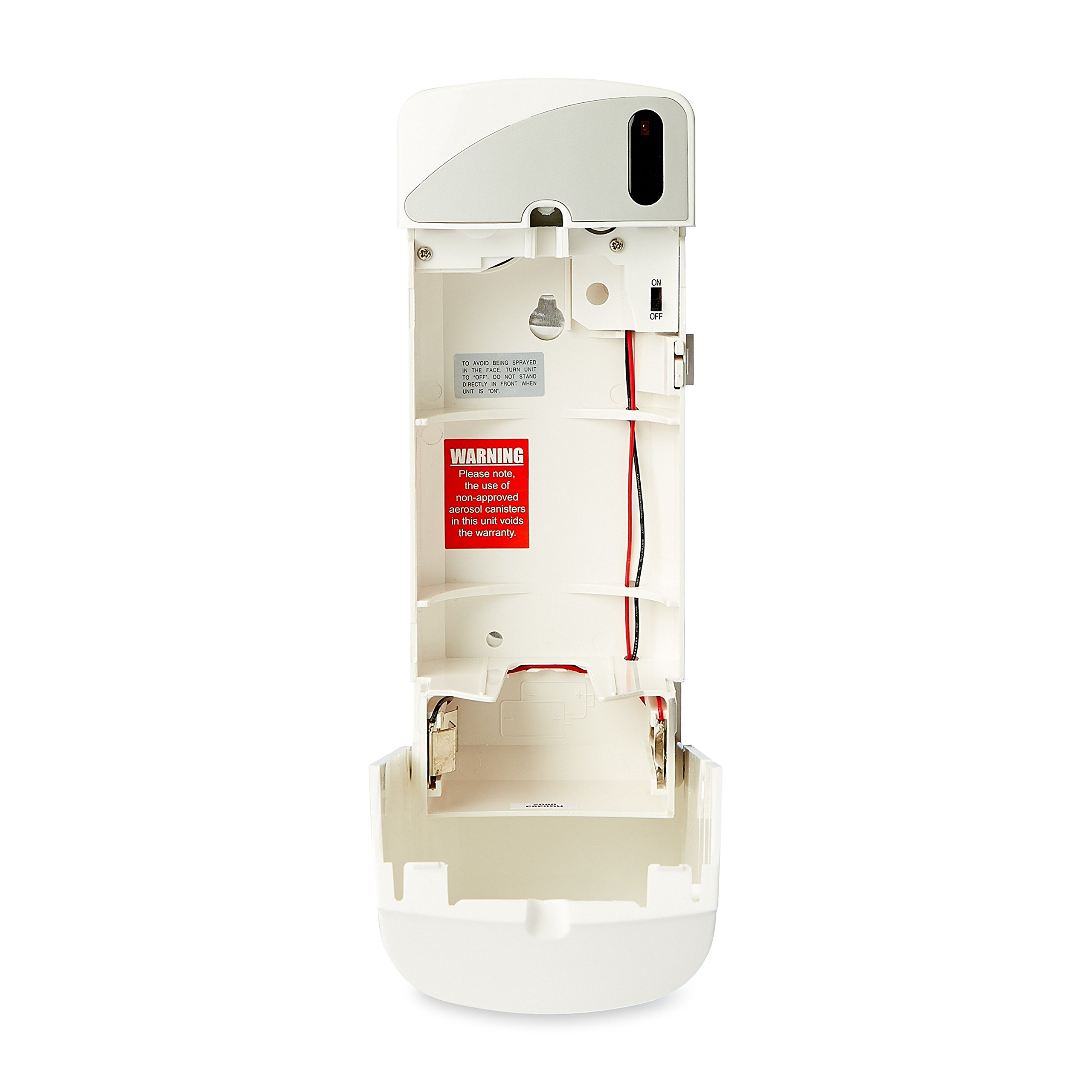 Rubbermaid Commercial 401375 Microburst 9000 Aerosol Odor Control Economizer Dispenser, White by Rubbermaid Commercial Products (Image #5)