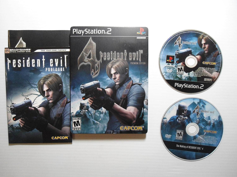 Amazon Com Resident Evil 4 Premium Edition Unknown Video Games