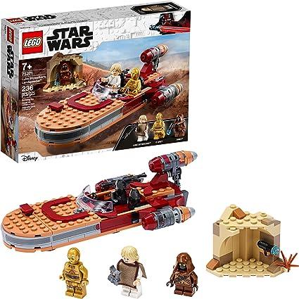 Amazon Com Lego Star Wars A New Hope Luke Skywalker S Landspeeder 75271 Building Kit Collectible Star Wars Set New 2020 236 Pieces Toys Games