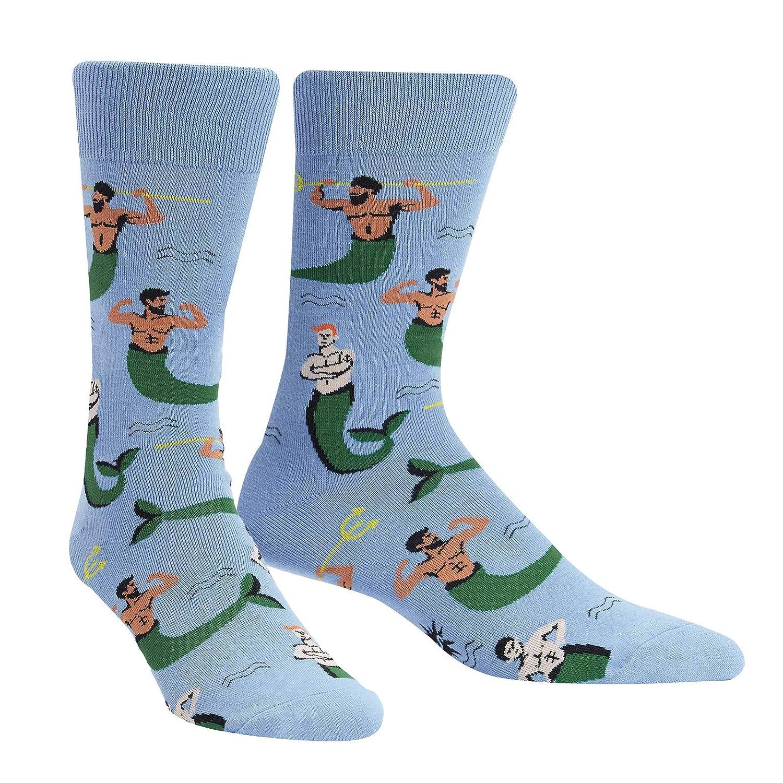 Sock It to Me Mermen Men/'s Crew Mermen Mens Crew
