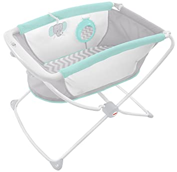 Apologise, but, Fisher price swinging bassinet think, that