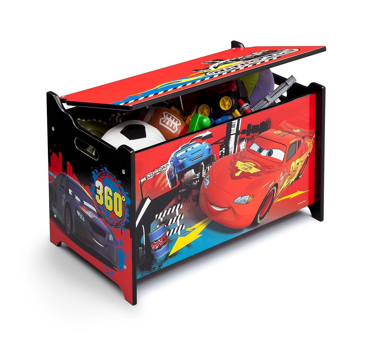 Delta Children Cars - Caja de juguetes, unisex TB84491CR