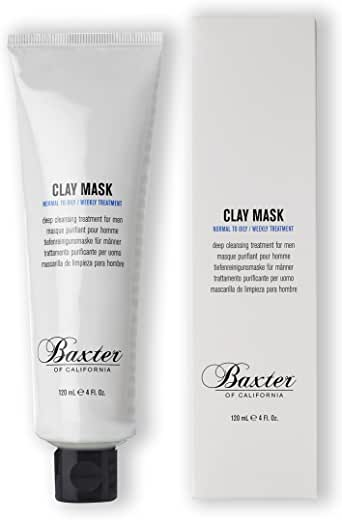 Baxter of California Clarifying Clay Mask, 120 milliliters