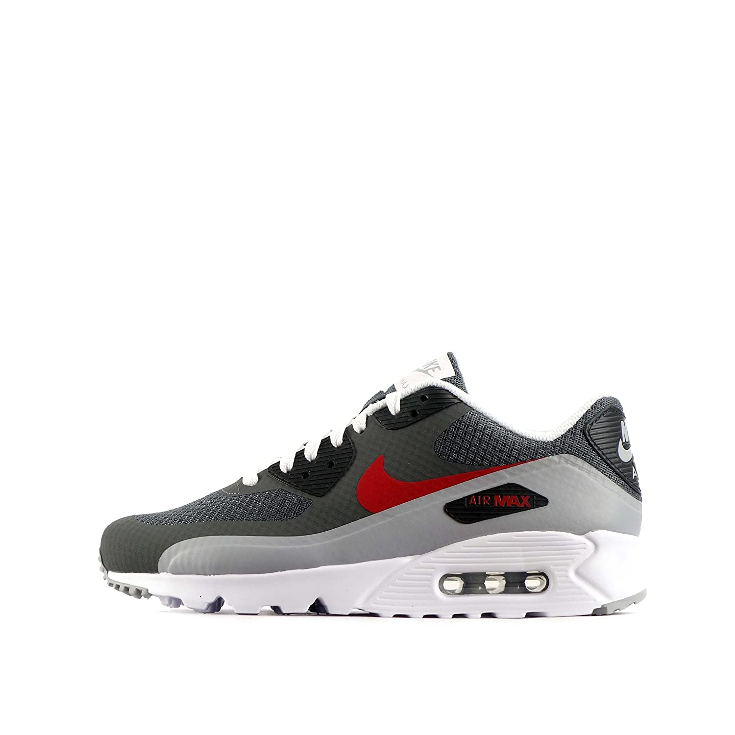 a88efc2603f54 chic nike air max 90 ultra essential mens trainers 819474 sneakers shoes ( dark grey gym