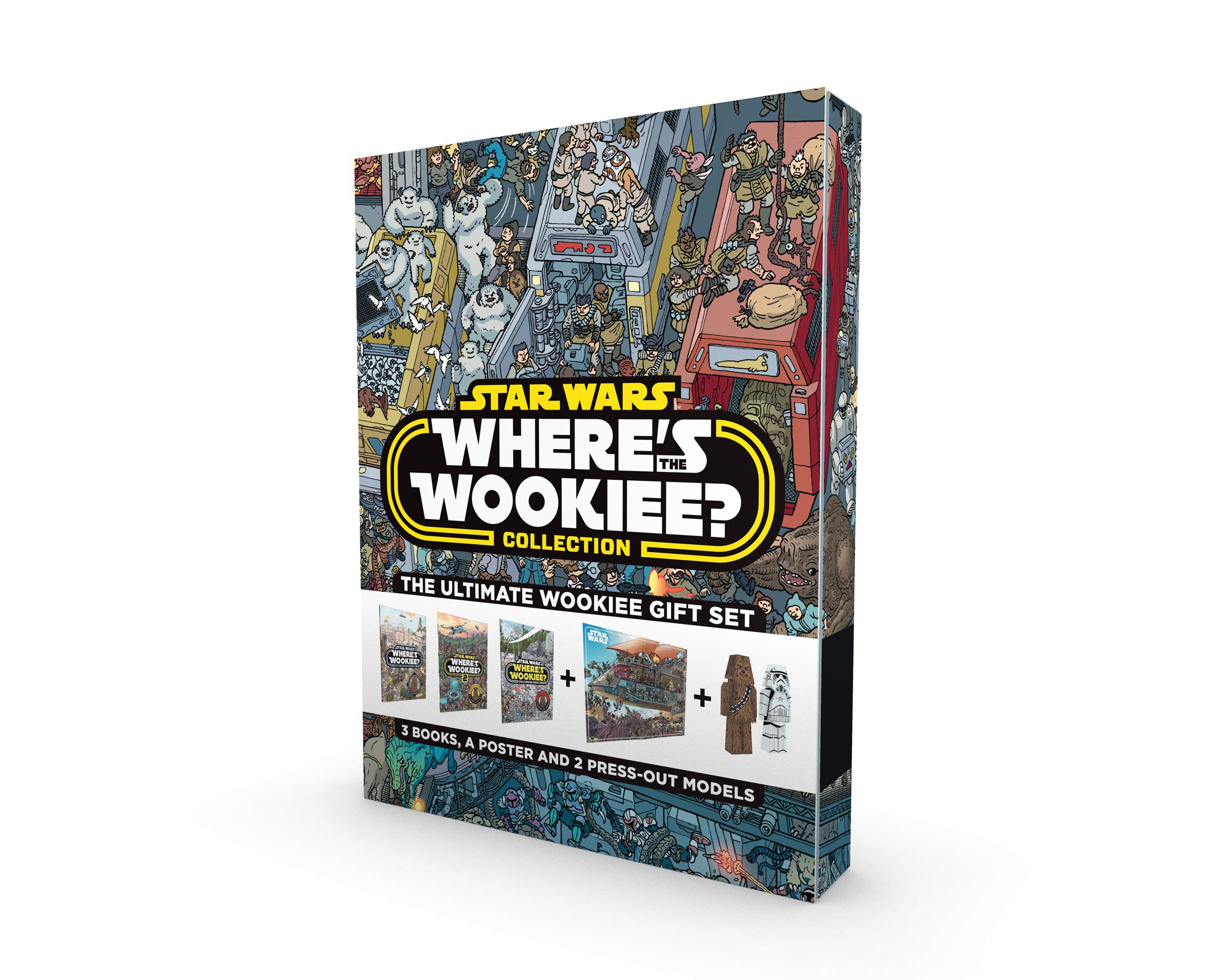 Star Wars Where\'s the Wookiee Collection: Gift Box: Amazon.co.uk ...