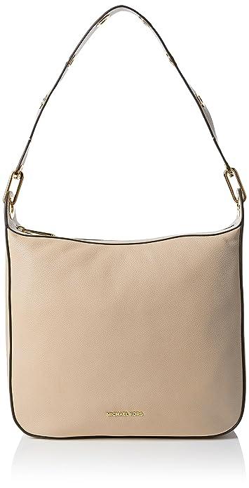 216c5d5193aa Michael Kors 30F6GRXL3L OYSTER Womens Raven Shoulderbag Shoulder Bag Beige ( Oyster)