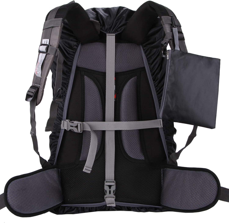 Cubierta Impermeable de Mochila 15-65L Altamente Reflectantes Protectora Funda de Mochila Anti Polvo para Excursionismo Camping Viajar Actividades al Aire Libre Hiwalker Funda para Mochila