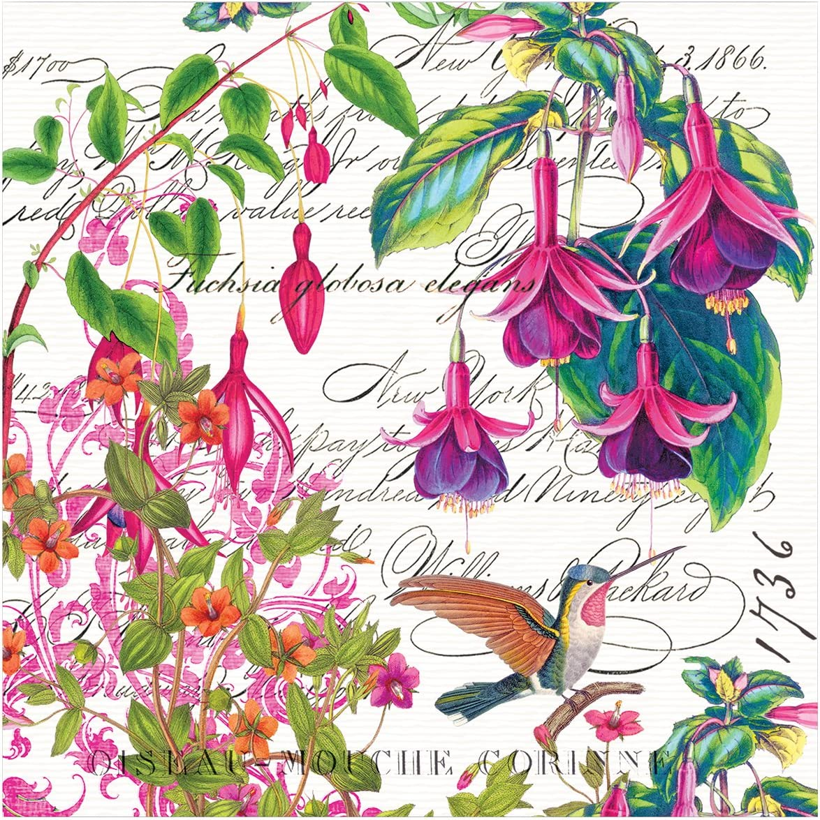 Michel Design Works Luncheon Paper Napkins ~ Fuchsia 20 ct
