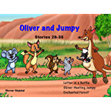 Oliver and Jumpy  - the Cat Series, Stories 28-30, Book 10: Bedtime stories for children in illustrated picture book with short stories for early readers. (Oliver and Jumpy, the cat Series)