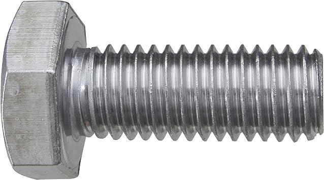 100 St/ück Sechskantschrauben DIN 933 V2A VA Edelstahl M12 x 60 Gewindeschrauben Schrauben
