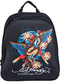 2a8570c44832 Ed Hardy Nina Snake Computer Case Notebook Backpack - Black