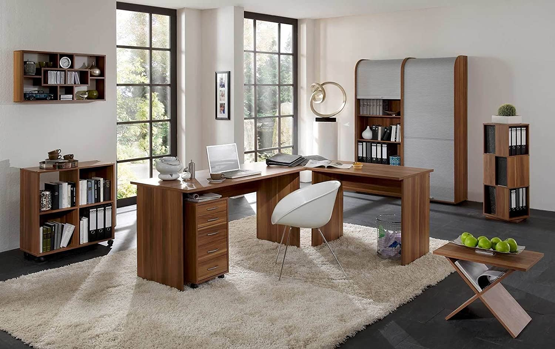 Arbeitszimmer Büroeinrichtung Büromöbel Büro komplett Set OFFICE ...