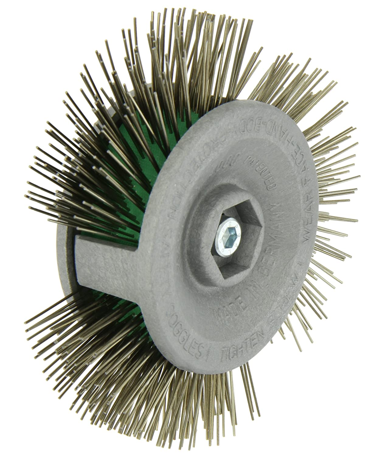 Norton Drill Mount Rapid Strip Wire Wheel Brush, 4\