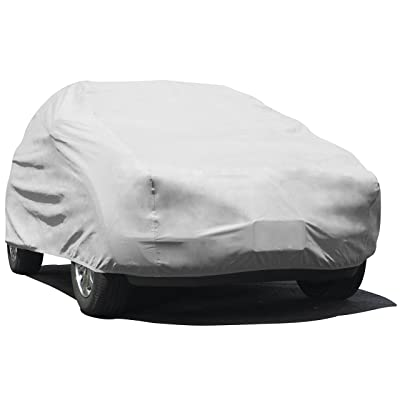 "Budge UB-1 Lite Indoor Dustproof UV Resistant Cover Fits Full Size SUVs up to 186"", Gray: Automotive"
