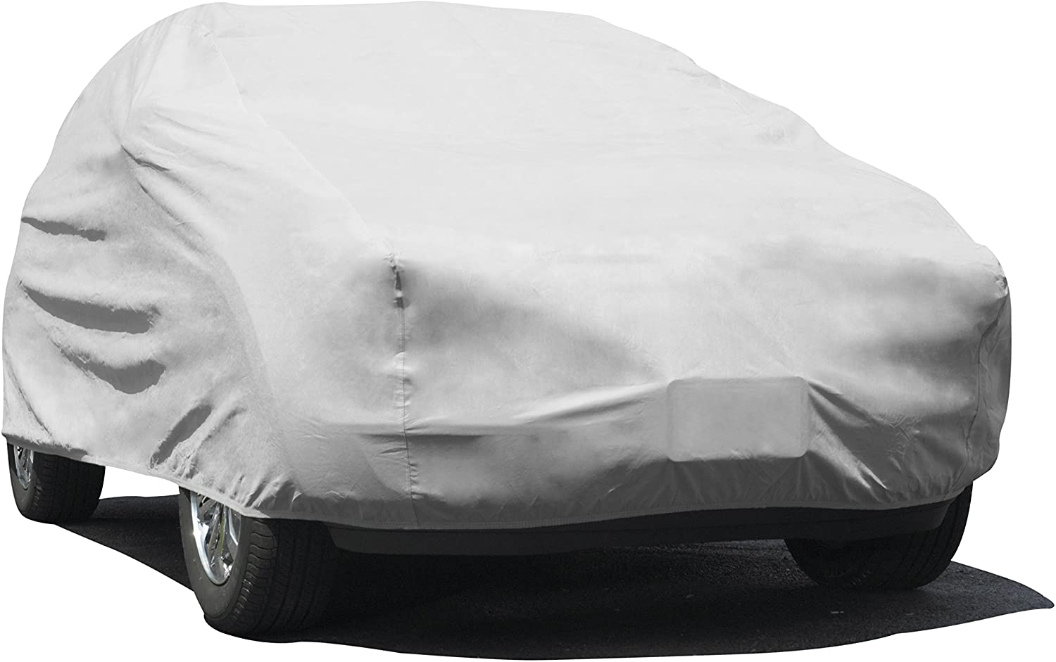"Budge UB-0 Lite Indoor Dustproof UV Resistant Cover Fits Full Size SUVs up to 162"", Gray"